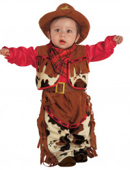 Disfarce cowboy bebé