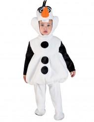 Disfarce boneco de neve criança
