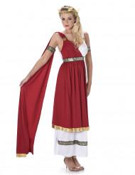 Disfarce romana vermelho mulher