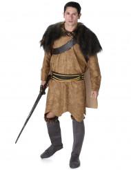 Disfarce viking castanho homem