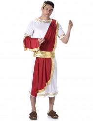 Disfarce emperador romano homem