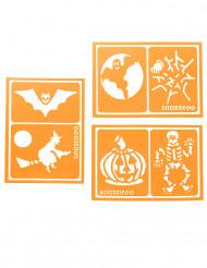 6 Stencils mistos Snazaroo™ Halloween