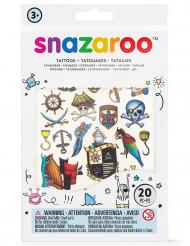 20 tatuagens temporárias Snazaroo™ - menino