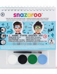 Mini kit de maquiagem Snazaroo™ com guia - menino