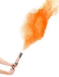 Canhão de pó cor de laranja