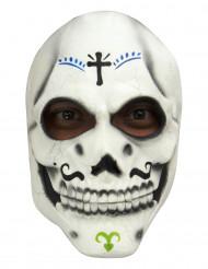 Máscara Esqueleto Dia de los Muertos adulto