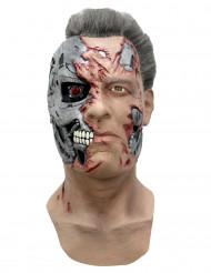 Máscara ciborgue T-800 Terminator© Genisys™