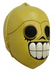 Máscara droide Dia dos Mortos adulto Halloween