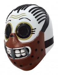 Máscara integral canibal Dia dos Mortos adulto Calaveritas™ Halloween