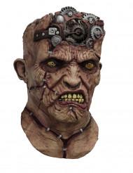 Máscara integral animada Frankenstein mecânico adulto