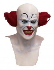Máscara integral palhaço diabólico