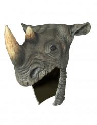 Máscara de rinoceronte adulto