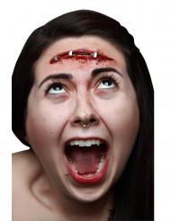 Ferida falsa cicatriz adulto Halloween