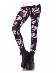 Leggings esqueleto mulher Halloween