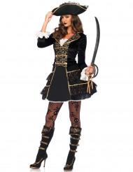 Disfarce capitã pirata - mulher