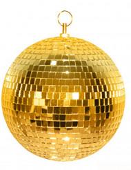 Bola de discoteca dourada