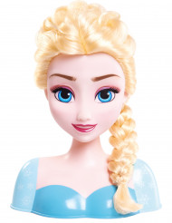 Cabeça da boneca Elsa para pentear - Frozen™