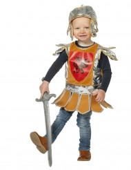 Disfarce pequeno cavaleiro bébé