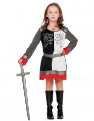Disfarce princesa cavaleira menina