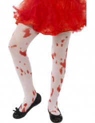 Meias ensanguentados criança Halloween