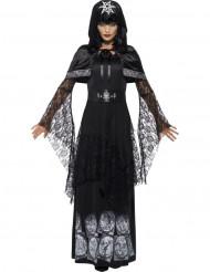 Disfarce magia negra adulto Halloween