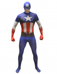 Disfarce clássico Captain America ™ adulto Morphsuits™