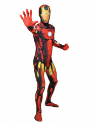 Disfarce Morphsuits™ Iron Man™ clássico adulto
