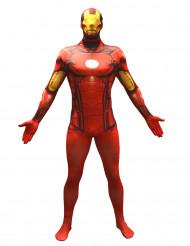 Disfarce Morphsuits™ Iron Man™ adulto