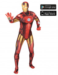 Disfarce Iron Man™ zapper adulto Morphsuits­™