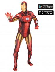 Disfarce Iron Man™ zapper adulto Morphsuits™