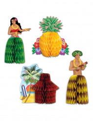 Centros de mesa Havaí