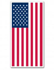 Decoração de porta USA