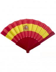 Leque com a bandeira Espanhola