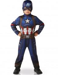Disfarce clássico Capitão América™ menino - Civil War™