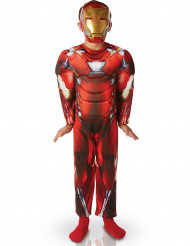 Disfarce Luxo Iron Man™ menino - Civil War