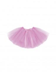 Tutu cor-de-rosa para menina