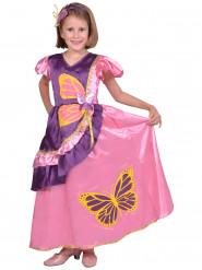 Disfarce princesa borboleta menina