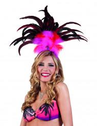 Bandolete brasileira cor-de-rosa mulher