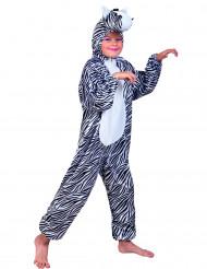 Disfarce zebra menino