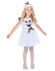Disfarce fantasma menina Halloween