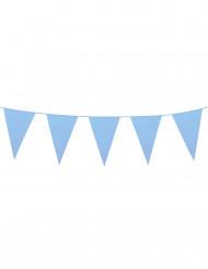 Grinalda de bandeirolas azul 10 m