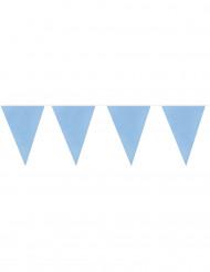 Grinalda de bandeirolas azuis 10m