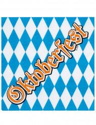 12 Guardanapos de papel Oktoberfest 33 x 33 cm