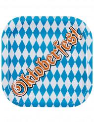 6 Pratos de cartão Oktoberfest