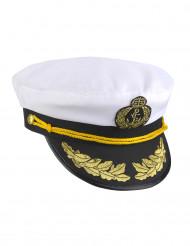 Boina capitão da marinha - adulto