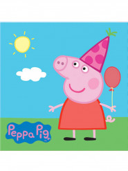 20 Guardanapos de papel Peppa Pig™