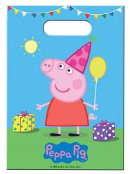 8 Sacos de festa Peppa Pig™ - Porquinha Peppa Pig™