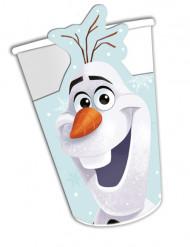 8 Copos de cartão Olaf Christmas™