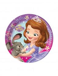 8 pratos pequenos Princesa Sofia™