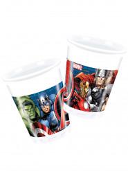 8 Copos de plástico Avengers Power™
